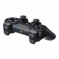 PS3 原廠震動手把(黑) 亞版