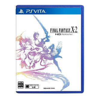 現貨供應中 日文版 含特典下載卡 [輔導級] PSV Final Fantasy X HD Remaster 太空戰士 X-2 HD版
