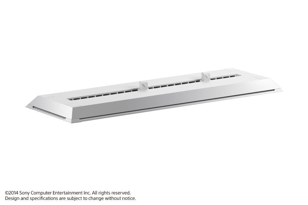現貨供應中 原廠公司貨  [PS4 周邊] PS4 主機直立架 冰河白