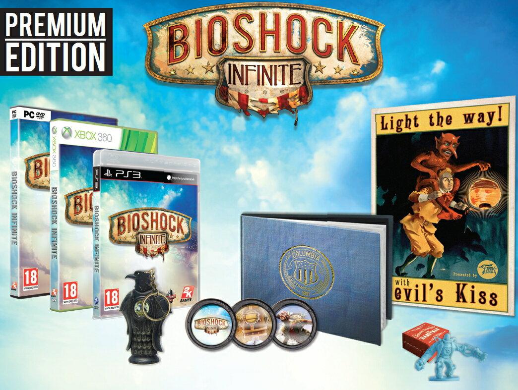 現貨供應中 含一代遊戲下載卡 [限制級] PS3 生化奇兵:無限之城 特典版 亞洲英文版