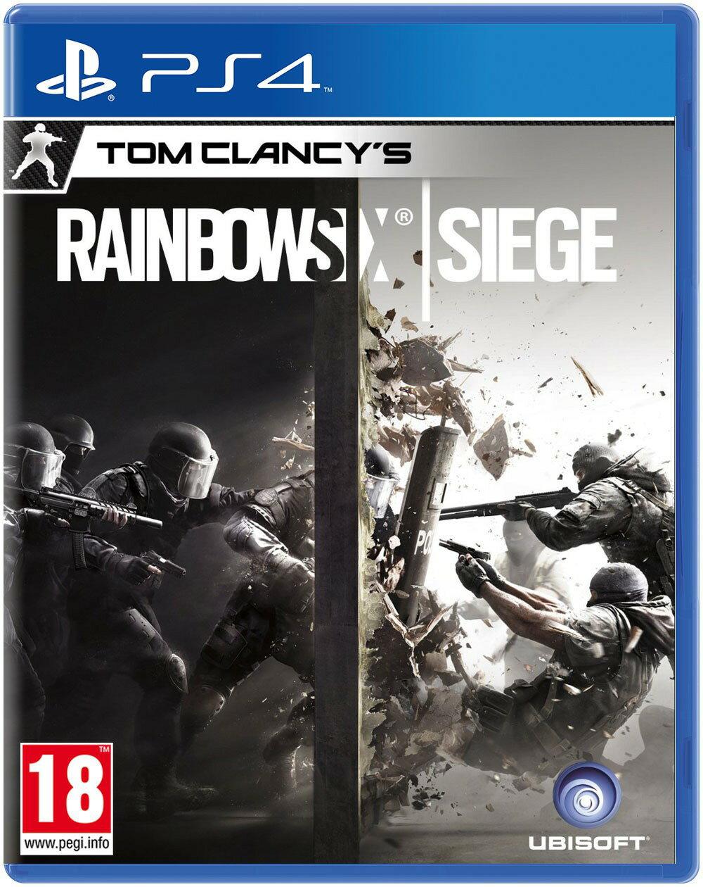 現貨供應中 [限制級] PS4 虹彩六號:圍攻行動