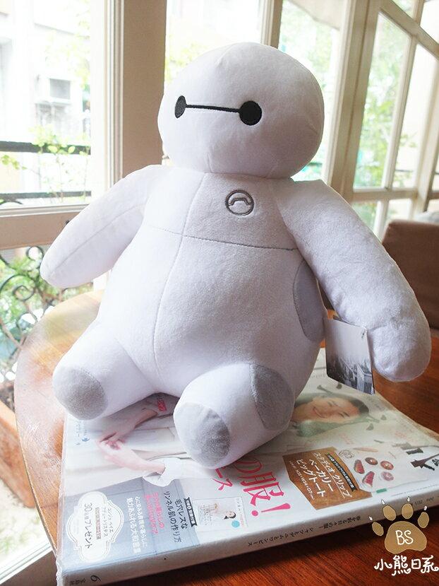小熊日系*杯麵坐姿造型娃娃 (12吋) 布偶 玩偶 Big Hero 6 大英雄天團 娃娃 迪士尼