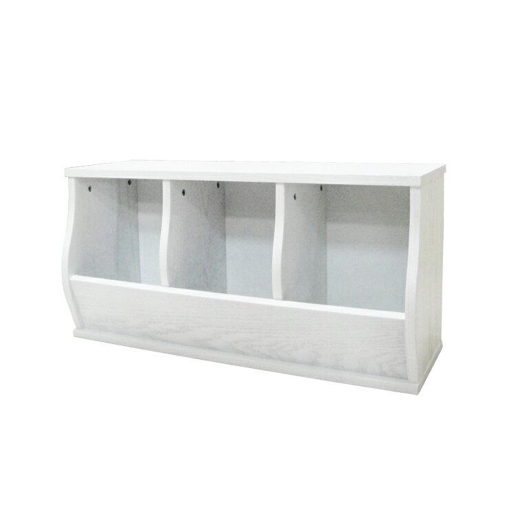 免運費~(3格)DIY質感斜取式造型收納櫃 / 可堆疊收納櫃 / 格櫃 / 斜櫃 / 置物櫃 / 置物盒~ 寬80.5*深30.5*高41公分  #樂創木工# 5