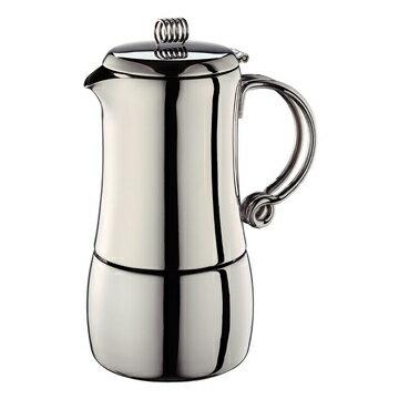 金時代書香咖啡 CafeDeTiamo 513 四杯份 不鏽鋼摩卡壺 HA2289 - 限時優惠好康折扣
