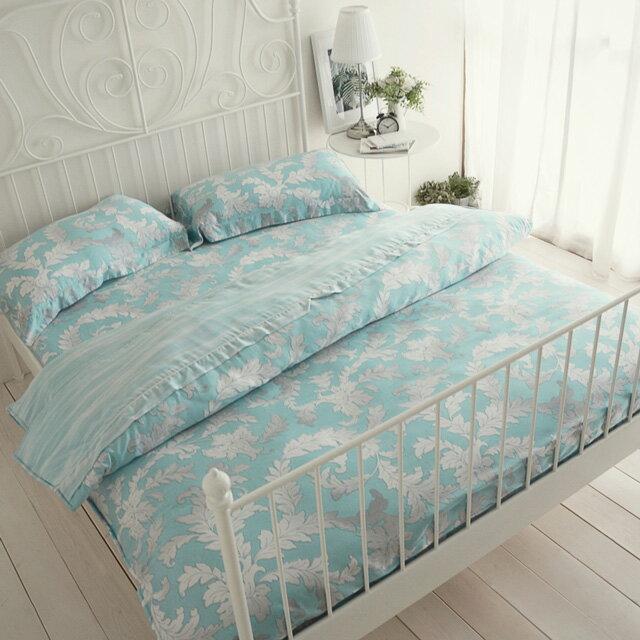 台灣製天絲60支紗【花草集】床包(兩用被套)四件組 / 雙人、加大尺寸   絲薇諾 1