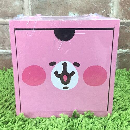 【真愛日本】 17090800004 積木收納盒-兔兔大臉粉 卡那赫拉的小動物 兔兔 P助 置物櫃 收納櫃 抽屜櫃