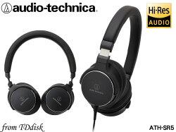 志達電子 ATH-SR5 audio-technica 日本鐵三角 高解析 耳罩式耳機 (台灣鐵三角公司貨)