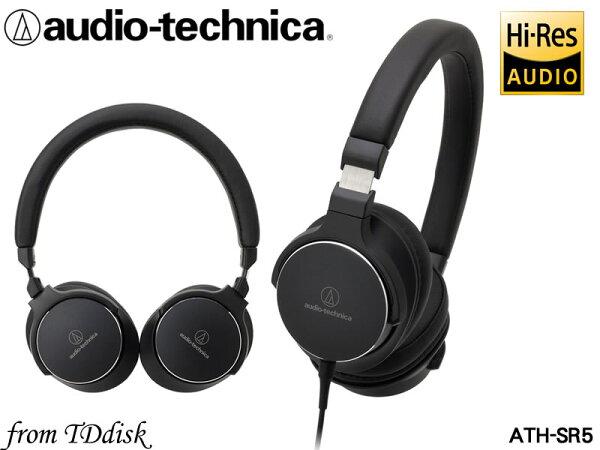 志達電子ATH-SR5audio-technica日本鐵三角高解析耳罩式耳機(台灣鐵三角公司貨)