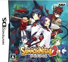 【Playwoods】[NDS遊戲] 召喚夜想曲/召喚夜響曲 2 SUMMON NIGHT 2 (日文亞版全新-普通級-策略-公司貨)
