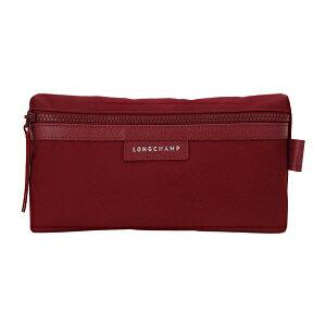 【LONGCHAMP】 LE PLIAGE NEO 系列 化妝包 - 酒紅