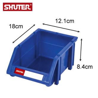 樹德 HB-1218 經典耐衝擊分類置物盒 / 可堆疊零件整理箱 ( 箱購60入 )