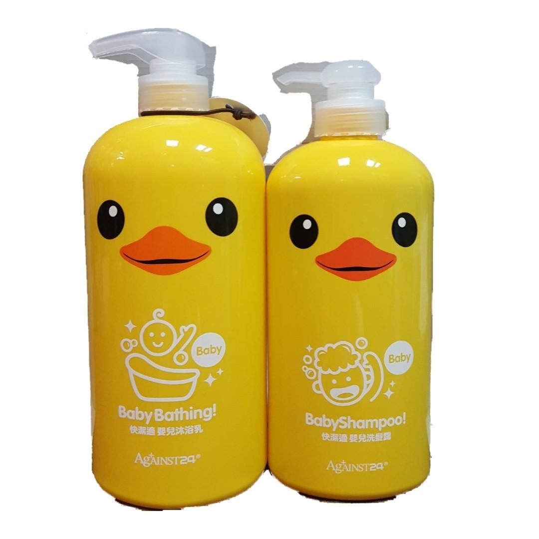 快潔適小黃鴨嬰兒洗髮露650ml