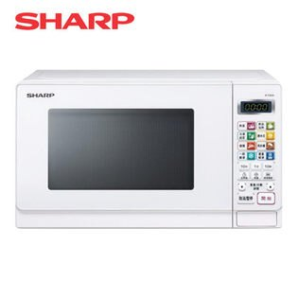 【SHARP夏普】20公升微電腦微波爐-白R-T20JS(W)