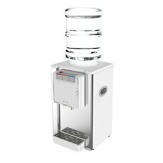 《買就送,市價$2500-德國BRITA濾水壺+濾心3入》【元山】不鏽鋼桌式桶裝冰溫熱飲水機 YS-8201BWIB(不含桶裝水)