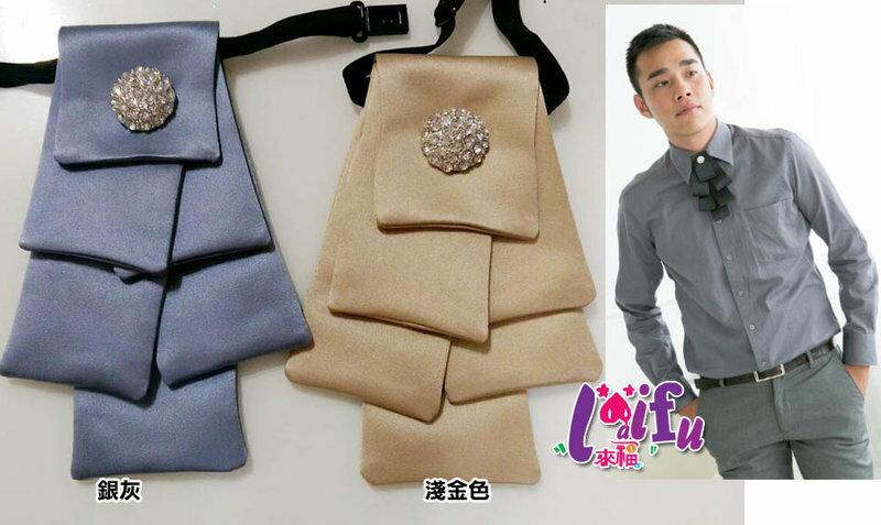 來福,k584領花聖誕樹層次領結結婚領結領花新郎領帶台灣製,售價300元