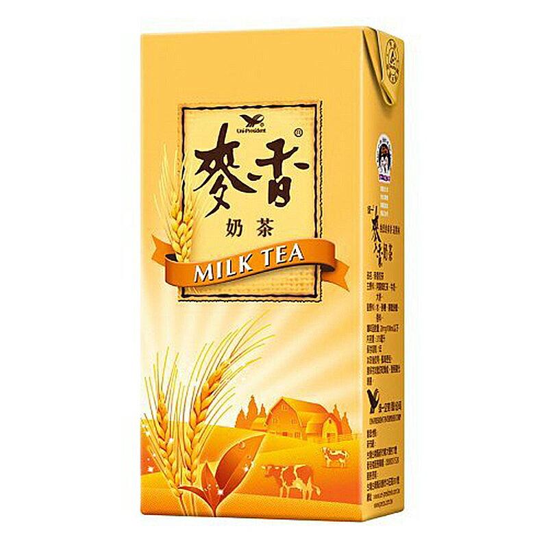 統一 麥香 奶茶 375ml(24入)/箱【康鄰超市】