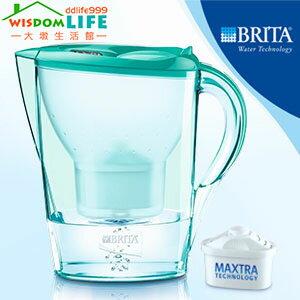 【免運】德國BRITA Marella XL 馬利拉 3.5L 濾水壺,1壺含1芯,薄荷綠只賣1100元!