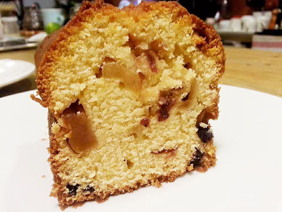 潔西的蘋果蔓越莓磅蛋糕 (700g) 蛋糕 下午茶