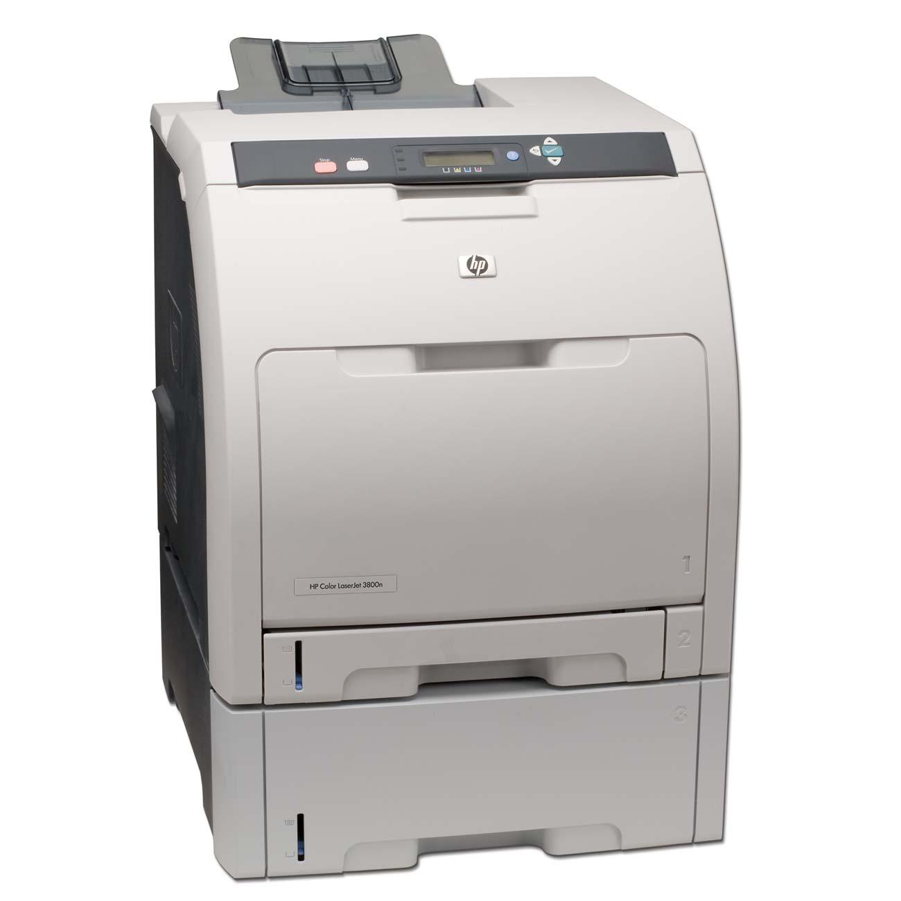 HP Color LaserJet 3800N Color Laser Printer 0