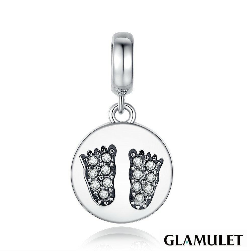 Glamulet格魅麗925純銀寶貝的腳丫丫