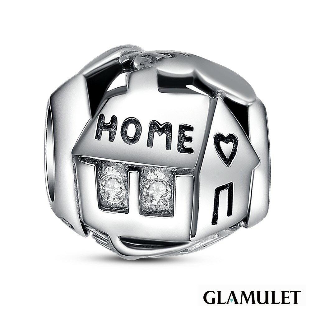 Glamulet格魅麗925純銀甜蜜之家 charm-施華洛世奇