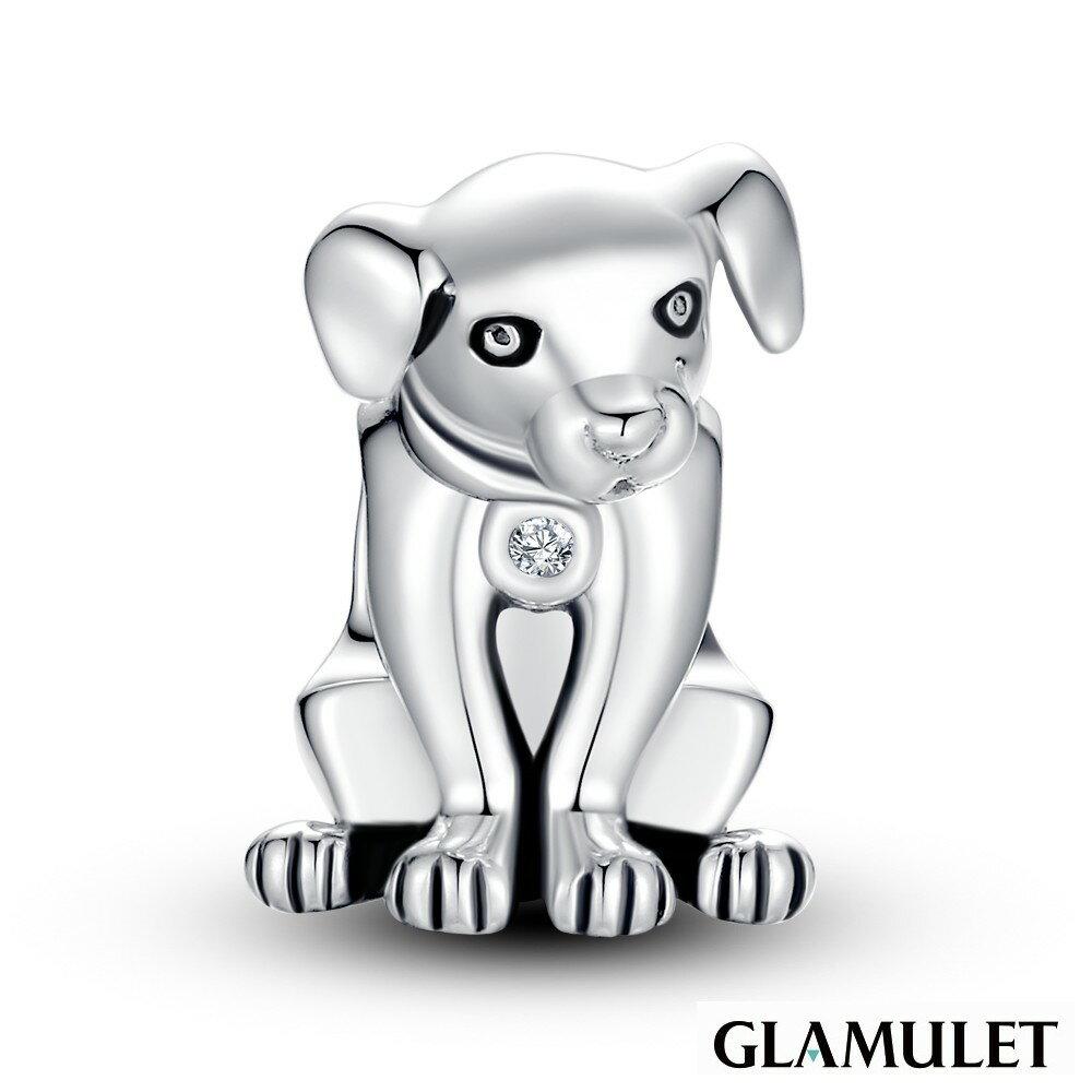 Glamulet格魅麗925純銀忠誠的狗狗 Charm手環手鏈串珠吊飾