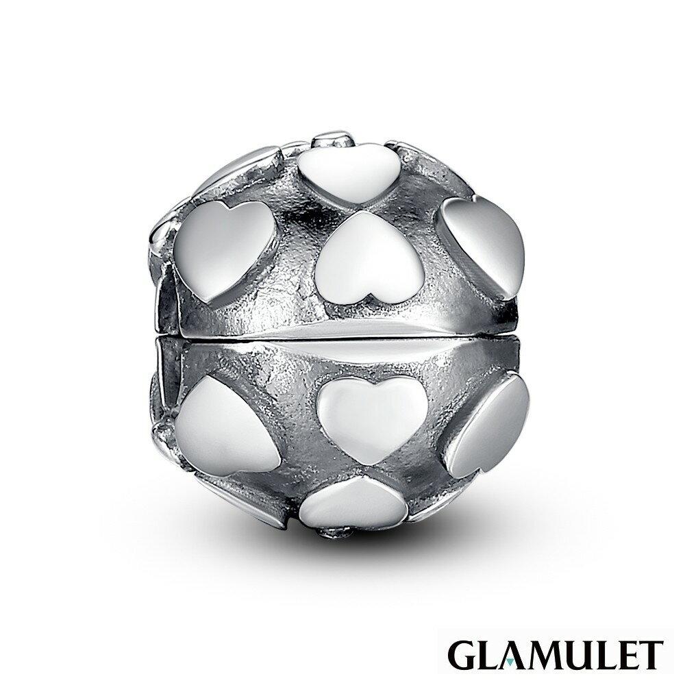 Glamulet格魅麗925純銀水晶愛心定位珠手環手鏈串珠吊飾
