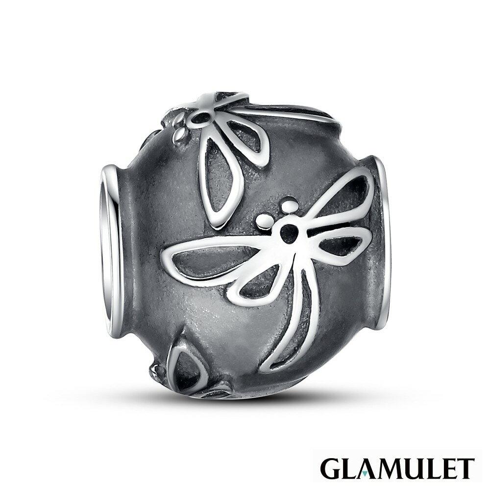 Glamulet格魅麗925純銀水晶蜻蜓 charm 925純銀