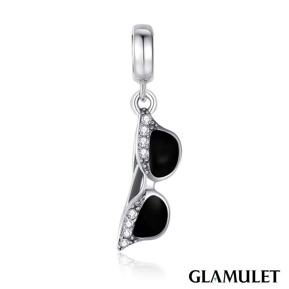 Glamulet格魅麗925純銀水晶手環手鏈吊飾串珠墨鏡 CHARM