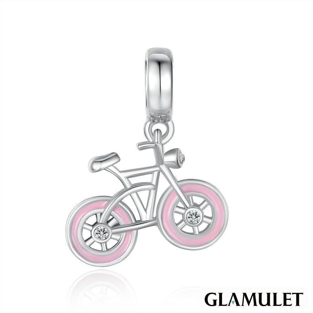 Glamulet格魅麗925純銀水晶手環手鏈吊飾串珠單車 CHARM