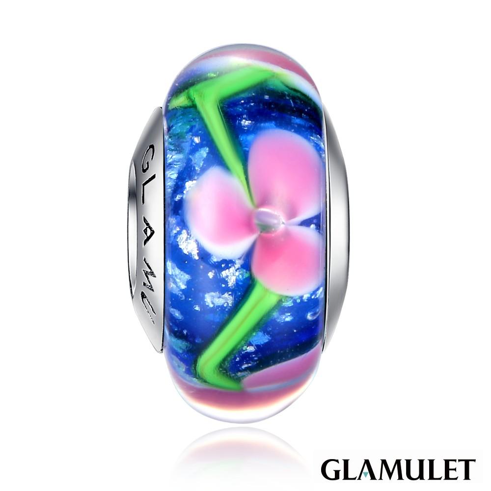 Glamulet格魅麗925純銀水晶花園舞者琉璃珠手環手鏈串珠吊飾