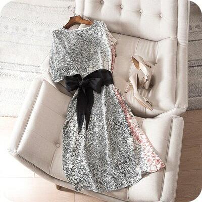 連身裙桑蠶絲連衣裙-高貴優雅復古韻味女上衣73sz31【獨家進口】【米蘭精品】
