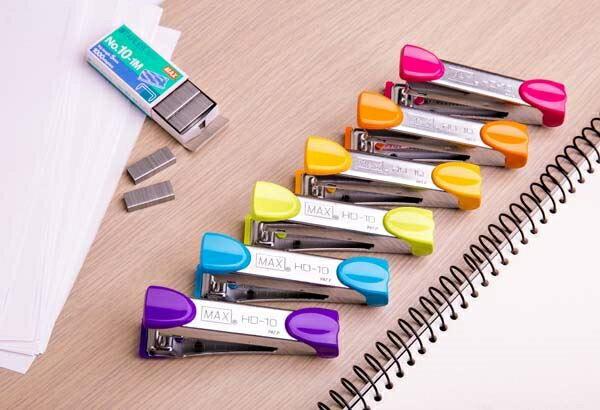 聯盟文具 日本 美克司 MAX HD-10 釘書機 訂書機 (適用10號釘書針)