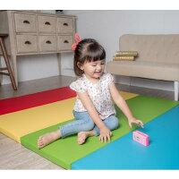 《Mang Mang 小鹿蔓蔓》兒童超厚4cm摺疊地墊(四折S款-彩虹色)-寶寶共和國-媽咪親子推薦