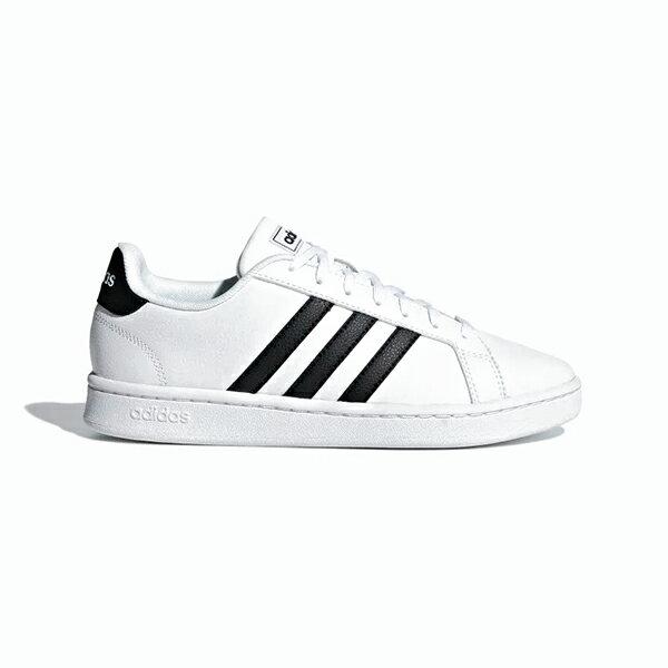 【ADIDAS】愛迪達 GRAND COURT 休閒鞋 白 女鞋 -F36483◆滿$1800領券最高折$270