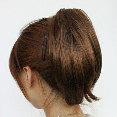 短假髮假馬尾-隱形抓夾式內彎短髮女假髮3色73rr53【獨家進口】【米蘭精品】