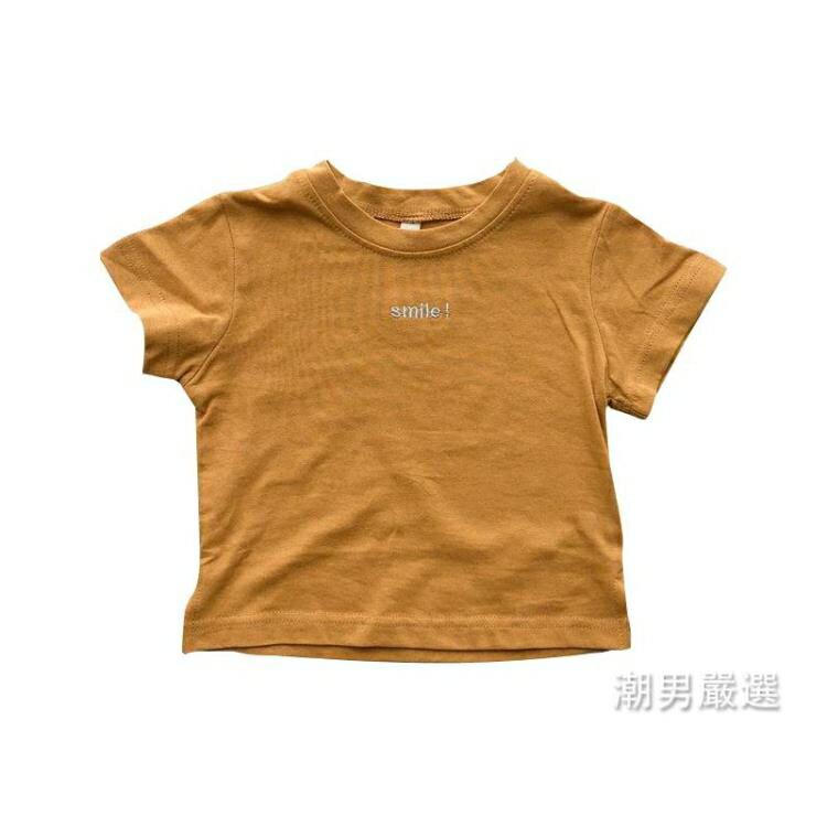 短袖T恤童裝2018新品寶寶女童短袖T恤兒童小童兒童上衣夏裝0-1-2-3歲4