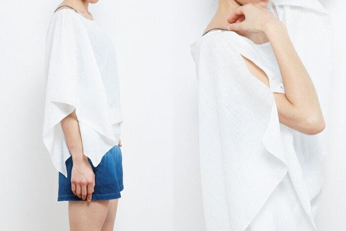 【Bali】亞麻布簡約罩衫 瑜珈服 8
