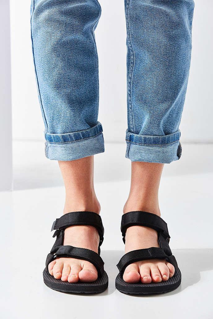 TEVA  美國 經典織帶涼鞋 TV1003987BLK 女鞋 5