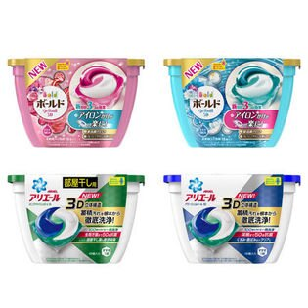 EZMORE購物網:日本P&G3D立體洗衣膠球18入盒裝三種洗劑洗衣果凍球洗衣凝膠球除臭抗菌洗衣球寶僑【N202654】
