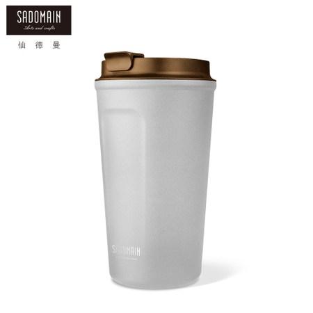 【晨光】仙德曼咖啡直飲保溫杯480ml白藍紅黑(078176)【現貨】