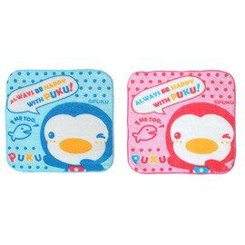 PUKU藍色企鵝 - 學生手帕 (藍/粉) 0