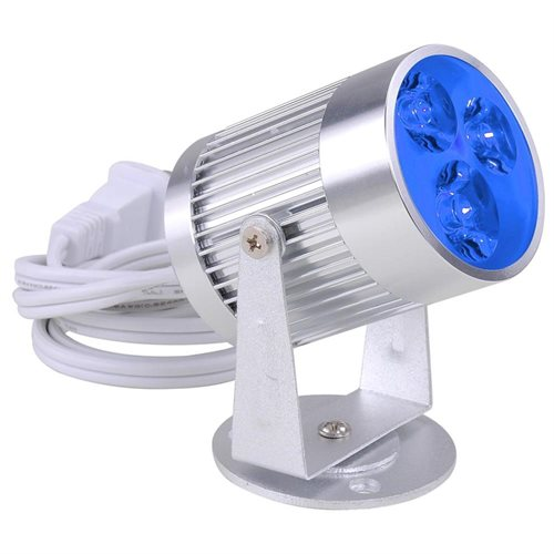 3W 3 LEDs Aluminum Pinspot Stage Effect Light Disco Party Display White/Warm White/Blue/Green/Red/RGB 0