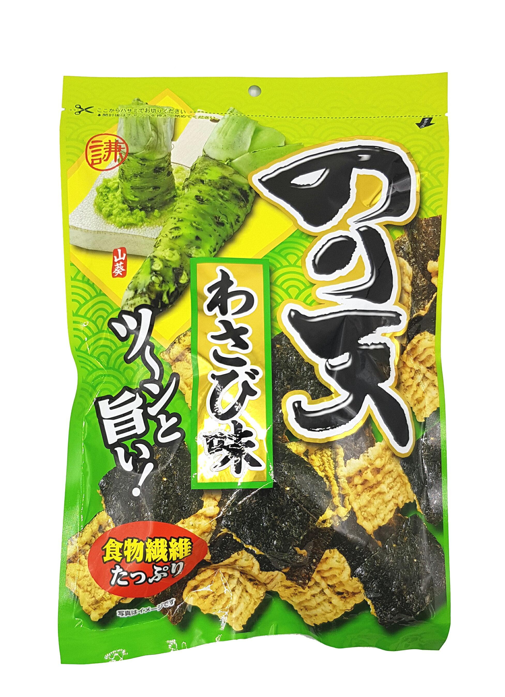 《Chara 微百貨》日本 井上 瀨戶 Maruka 海苔 天婦羅 餅乾 丸嘉 原味 150g  /  上野 芥末口味 炸物 4