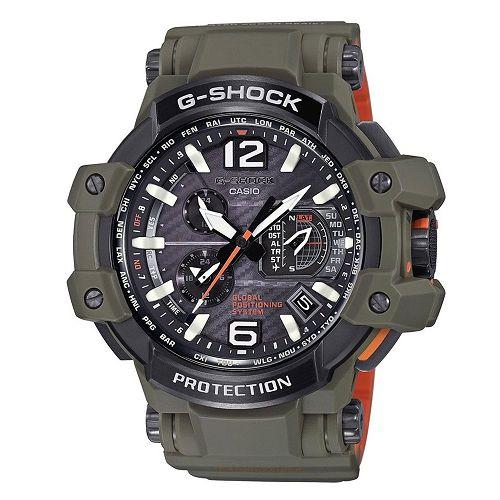 CASIO G-SHOCK GPW-1000KH-3A 概念GPS電波腕錶/56mm