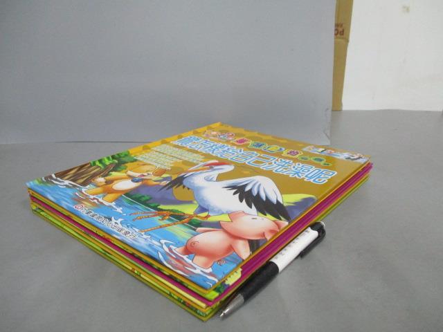 【書寶二手書T4/少年童書_EMM】趣味動物小百科-為什麼龜可以長壽_鷺怎樣給自己洗澡呢?等_4本合售