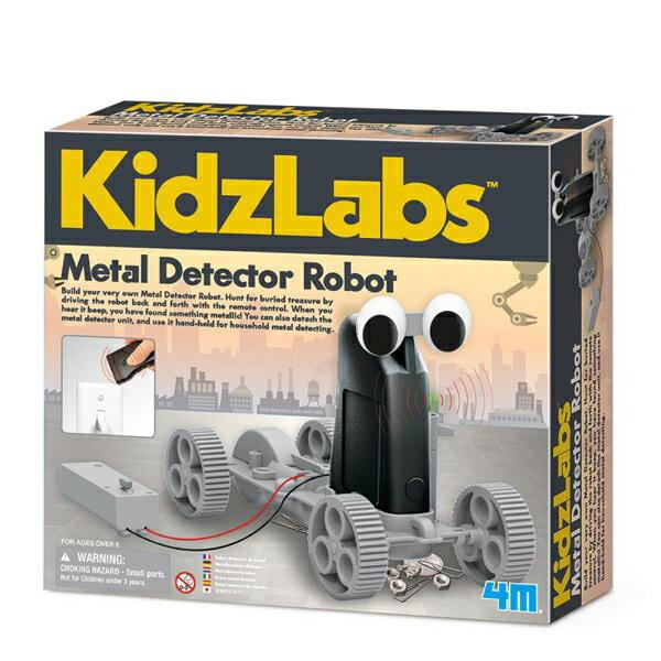 【4M 創意 DIY】金屬探測機器人 Metal Detector Robot 00-03297