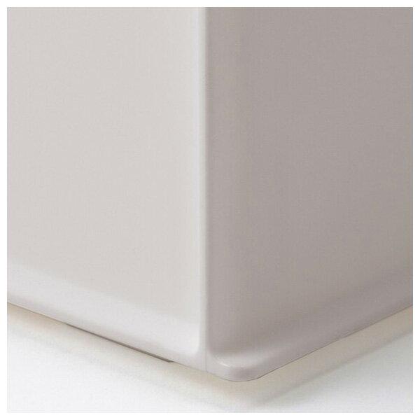 收納盒 橫式半格型 N INBOX GY NITORI宜得利家居 5