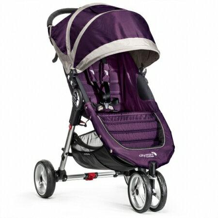 baby jogger city mini 單手秒收【Fold 經典版】-輕慢跑推車-紫色