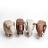 動物矮凳 動物造型椅-水牛椅,大象椅 居家擺設椅子 3